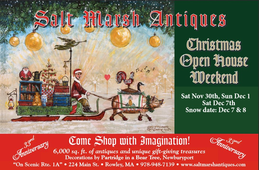 Welcome to Salt Marsh Antiques Christmas Open House