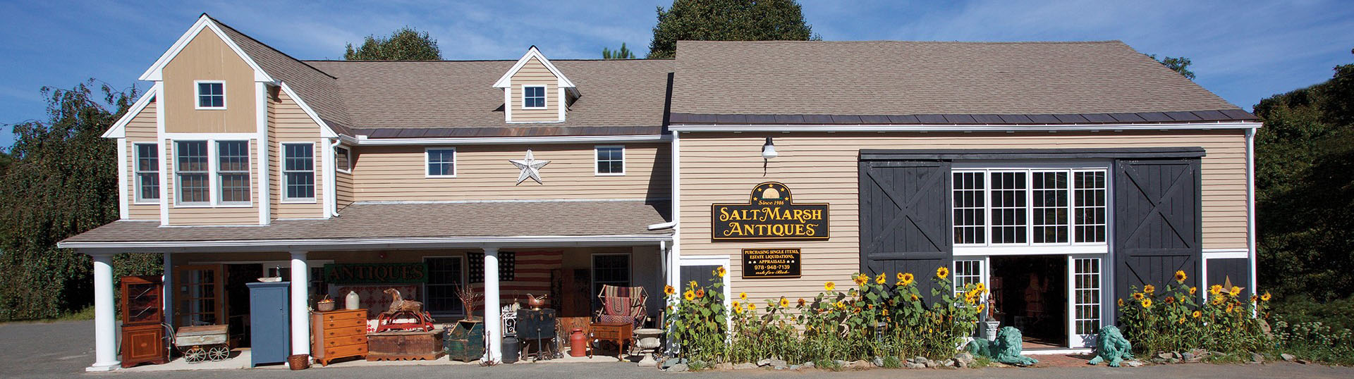 Salt Marsh Antiques North - Shore, Rowley MA