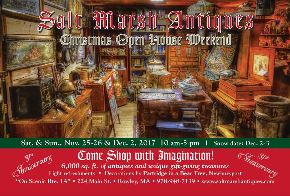Salt Marsh Antiques Christmas Open House
