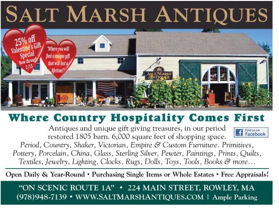 Valentines Day at Saltmarsh Antiques